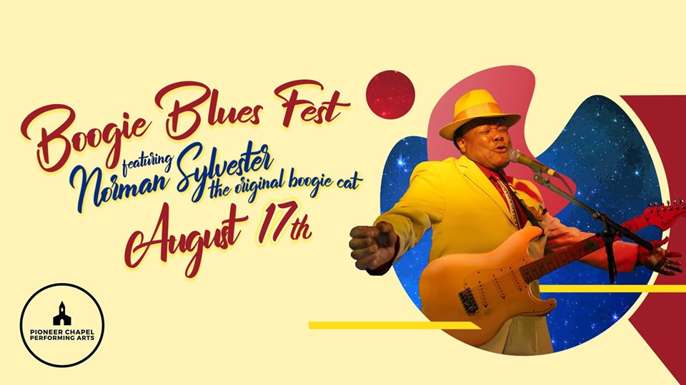 Boogie Blues Fest featuring Norman Sylvester at Canby Pioneer Chapel | August 17th